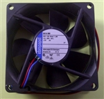 EBM-PAPST 8414NM 24VDC BALL BEARING FAN 80MM X 80MM X 25MM  34.1CFM 27DB 1.4W 0.06A 2600RPM 2 WIRE