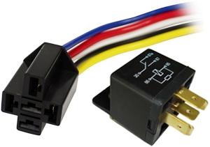 PICO 12VDC RELAY C/W SOCKET & HARNESS 30A-NC/40A-NO 926-91 AUTOMOTIVE on