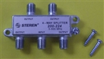 MODE 4 WAY SPLITTER BEM475                                  MFR# 16-114-0