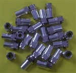 ABM F CRIMP CONNECTOR FOR RG6 W/HEX NUT (F56) BEM50