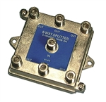 PHILMORE 6 WAY 75 OHM SPLITTER 1GHZ BEM675                  MFR# 8114PVB