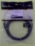 SIGNAMAX CAT5E BLACK PATCH CORD W/BOOT (7FT) C5E114BK7FB    CABLE