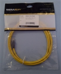 SIGNAMAX CAT5E YELLOW CROSSOVER PATCH CORD C5EXB112YE7FB    (7 FOOT CABLE)