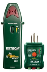 EXTECH 3 IN 1 CIRCUIT BREAKER/GFCI/OUTLET TESTER CB10