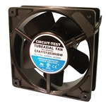 CIRCUIT TEST CFA11512038HBW 115VAC BALL BEARING FAN         120MM X 120MM X 38MM 105CFM 46DB 3000RPM *SPECIAL ORDER*