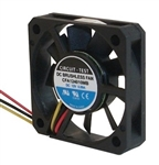CIRCUIT TEST CFA124010MB 12VDC BALL BEARING 3-WIRE FAN      40MM X 40MM X 10MM 6.5CFM 24DB 5000RPM