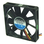 CIRCUIT TEST CFA128015HS 12VDC SLEEVE BEARING 3-WIRE FAN    80MM X 80MM X 15MM 39CFM 35DB 3000RPM