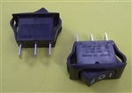 CHERRY ON-OFF-ON 20A ROCKER SWITCH SPDT BLK CRE24F2HBBNE    NOT RATED/TESTED FOR 6VDC/12VDC/24VDC