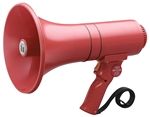 TOA ER-1215S HAND GRIP TYPE MEGAPHONE WITH SIREN 15 WATT