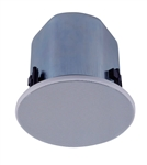 TOA F-2322CU2 30W 12CM FULL RANGE CEILING CONE SPEAKER,     8/16 OHM 25/70V WITH RAILS (BY PAIR) *SPECIAL ORDER*