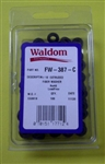 WALDOM EXTRUDED FIBRE WASHER #10 FW387C