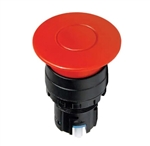 IDEC 22MM DIA. OPERATOR UNIT EMERGENCY STOP HW1BY2R         PUSH-PULL E-STOP