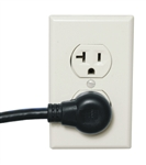 "MID ATLANTIC IEC POWER CORD 36"" 14AWG IEC36X20-90L          SIGNAL SAFE (TWISTED CONDUCTORS), LEFT ANGLED AC PLUG"