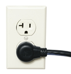 "MID ATLANTIC IEC POWER CORD 36"" 14GA IEC36X20-90R           SIGNAL SAFE (TWISTED CONDUCTORS), RIGHT ANGLED AC PLUG"