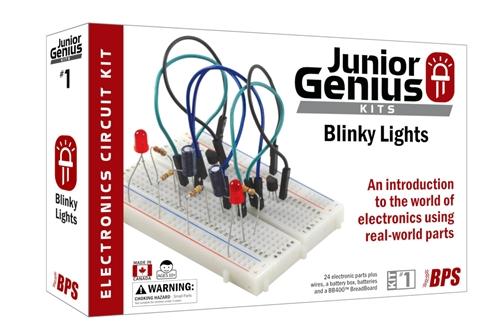 Busboard jr genius blinky lights electronic kit jrg01 kit solutioingenieria Choice Image