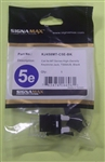 SIGNAMAX CAT5E MT-SERIES HD KEYST JACK BLACK KJ458MT-C5E-BK NOT COMPATIBLE WITH 41089-2WP, 41089-4WP (LEVITON)