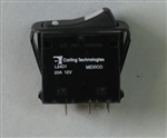 CARLI DPDT ON-ON ROCKER 12V 20A *ROHS* L24D1EHN1-A7900      RATED/TESTED FOR 12VDC ONLY