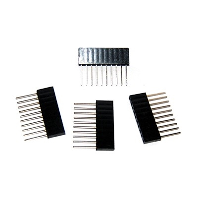 OSEPP STACKABLE HEADERS 10PIN (4PK) LS00009 ARDUINO