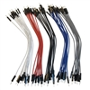 "OSEPP JUMPER WIRE M/M 6"" (50PCS) MULTI COLOURS LSMMPJ6      ARDUINO"