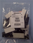 "TYTON CABLE TIE MOUNT ADHESIVE 1-1/8"" BLK (100 PK) MB4A0C2  FOR CABLE TIES T18-T50, ADHESIVE AND/OR #8 SCREW"