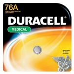 DURACELL WATCH BATTERY ALK LR44(1.5V)(PX76A/675AB) MN76-1