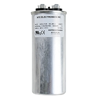 Nte Motor Run Capacitor 50uf 370vac Mrrc370v50 Rated