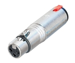 "NEUTRIK 3-PIN XLR(F)-1/4"" STEREO LOCKING JACK NA3FJ"
