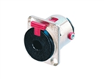 "NEUTRIK 1/4"" LOCKING JACK MONO/STEREO NJ3FP6C"