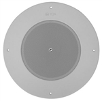 TOA PC-580RVU ROUND CEILING SPEAKER, WITH TRANSFORMER, WHITE GRILL, WITH VOLUME CONTROL *SPECIAL ORDER*
