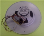 TOA CEILING SPEAKER ROUND XFMR GRILL WHT PC580RU