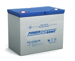 POWERSONIC SLA BATTERY WITH BUTTON 12V 55A FR  PG12V55FR