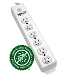 TRIPPLITE MEDICAL-GRADE POWER STRIP PS-615-HG               6 HOSPITAL-GRADE OUTLETS, UL1363, 15'CORD *SPECIAL ORDER*