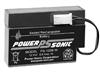 POWERSONIC 12V 0.8AH W/LEADS SLA BATTERY PS1208WL           MFR# PS-1208