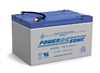 POWERSONIC 12V 12AH SLA W/.187 FASTON BATTERY PS12100       MFR# PS-12100F1