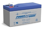 "POWERSONIC 12V 1.4 A.H. W/.187""QC SLA BATTERY PS1212"