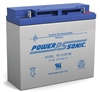 POWERSONIC 12V 18AH SLA BATTERY W/BOLTS PS12180             MFR# PS-12180NB