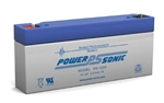 POWERSONIC 12V/2.9AHR SLA BATTERY (F1) PS1229