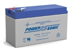 POWERSONIC 12V 7.0A.H. W/.187 QC SLA BATTERY PS1270         MFR# PS-1270F1 *SALE PRICE*