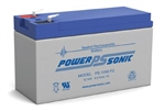 POWERSONIC 12V 9AH W/.250 QC SLA BATTERY PS1290
