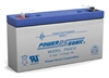 POWERSONIC 6V 1.2AH GELL BATTERY PS612                      MFR# PS-612