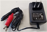 POWERSONIC DUAL RATE BATTERY CHARGER 12V 1 AMP PSC121000A-C FOR 12V SEALED LEAD ACID BATTERY 4AH-8AH MFR# PSC-121000A-CX