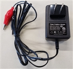 POWERSONIC DUAL RATE BATTERY CHARGER 12V 500MA PSC12500A-C  FOR 12V SEALED LEAD ACID BATTERY 2AH-5AH MFR# PSC-12500A-CX