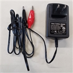 POWERSONIC DUAL RATE BATTERY CHARGER 6V 500MA PSC6500A-C    FOR 12V SEALED LEAD ACID BATTERIES 2AH-5AH MFR# PSC-6500A-C