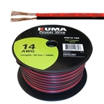 CIRCUIT TEST LOW VOLTAGE DC POWER CABLE 14AWG 100FT PW14-100