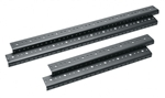 "MID ATLANTIC 10 SPACE (10U) RACK RAIL 1 PAIR (17.5"") RRF10"