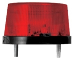 SPECO 12VDC WEATHERPROOF STROBE FLASHER RED SFR-12          CURRENT DRAW - 170MA TO 180MA