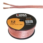 C/T HIGH PERFORMANCE SPEAKER WIRE 12AWG 100FT ROLL SP12-100