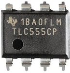 T/I TLC555CP SEMI 555 PRECISION TIMER 8PDIP CMOS LOW POWER  OUTPUT FULLY COMPATIBLE WITH CMOS,TTL AND MOS VDD:2VDC-15VDC