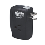 TRIPPLITE PORTABLE MODEM/FAX SURGE PROTECTION  TRAVELER
