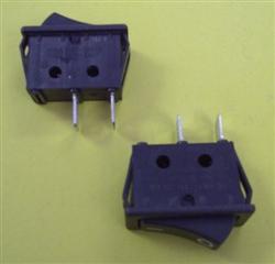 SPST 30-9851 LKG Industries Feed-Thru Rocker Cord Switch